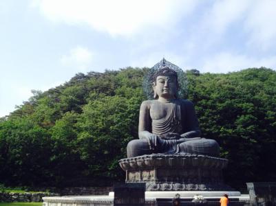 Bronze Buddha of Sinheungsa (Buddhist Temple)