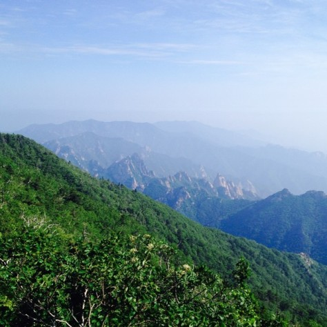 Peak of Soraeksan