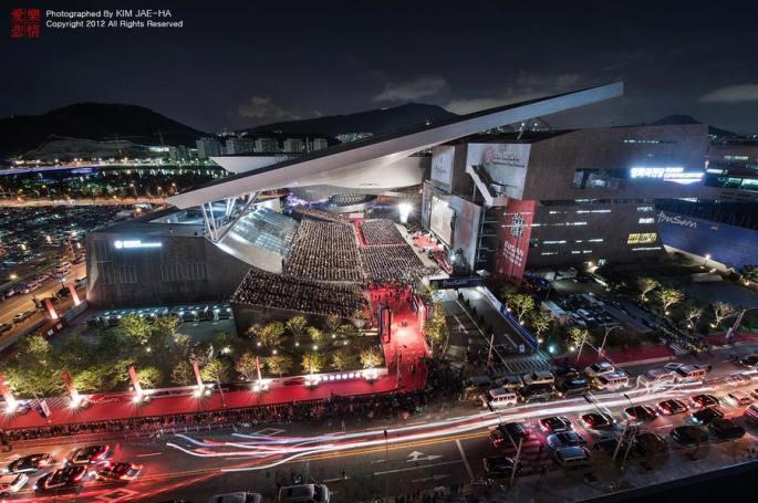 The main cinema center of Busan International Film Festival