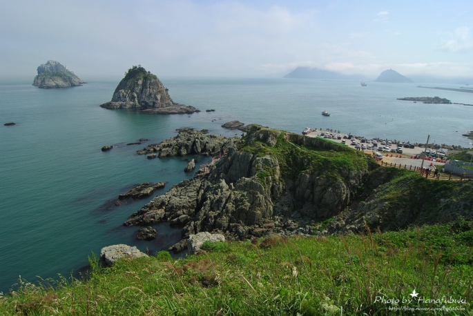 Oryukdo island , 5 islet in Busan