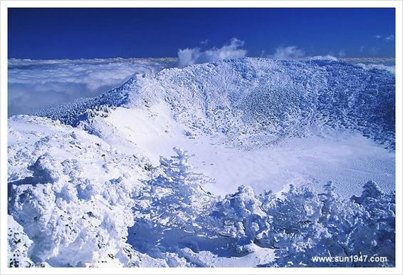 Hallasan, highest peak in Korea, Jeju island