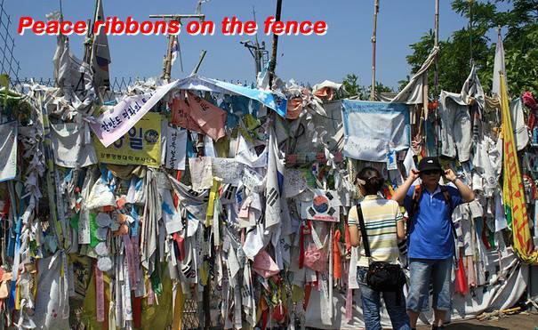 peace ribbons dmz